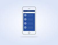 Mobile Screen blueprint
