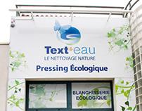 """Retail shop design """"Texteau"""""""