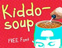 Kiddo-soup (free) font