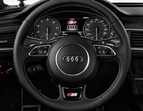 2013 Audi S7 Steering Wheel