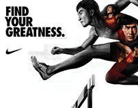 Nike 2012 Olympic Campaign Visuals - GC