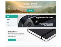 E-commerce UI/UX