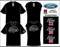 T-shirts for-Ford (X-Games Mexico City 2007)