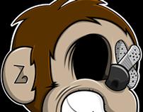 Zoo Troop Gang - Monkey Logo 2.0