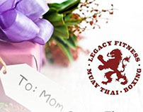 Legacy Fitness Mother's Day Special Flyer