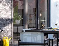 Modern house terrasse | CGI
