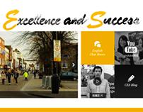 Website 官網建置 | CES 英語學習中心