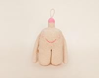 """Crocheted toy """"Mu."""" by Ukapupika"""