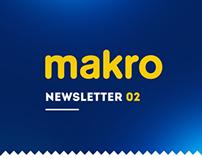 MAKRO NEWSLETTER 02 / Online Campaign