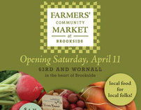 Farmers' Community Market at Brookside