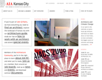 AIA Kansas City Web Design