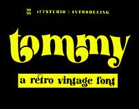 Free Font - Tommy Retro Serif