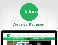 Canal Futura - Website Redesign
