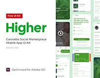 Higher - Mobile UI Kit