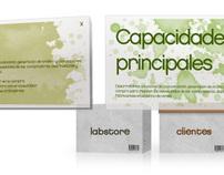 The Labstore. Web de agencia opción B