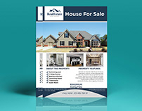 Real Estate& Property Flyer
