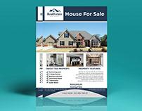 Real Estate& Property Flyer