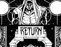 T-shirt design : Return to Fleet