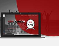 SDM Solution Website Design