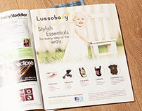 Magazine Ads for Lussobaby