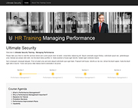 Bespoke Training Website