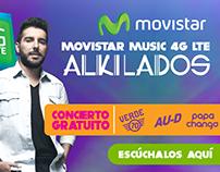 Movistar Music $G LTE