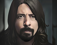 Dave Grohl | Gradient Mesh