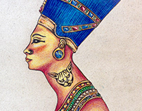 Ancient Egypt - Hand Drawing