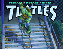Teenage Skater Turtles