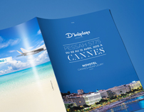 Brochure and Branding for Holiday trip D'Holydays.