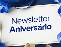Newsletter de Aniversário