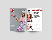 Magazine Layout: UPBEAT