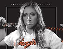 2016 Oklahoma State Softball Poster