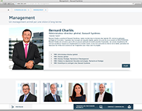 Headshots CEO Dassault Systèmes (Web and Annual report)