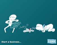 Start a business...