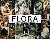 Free Flora Mobile & Desktop Lightroom Preset