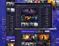 Movietube | Webdesign & Logo