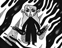 INKTOBER 2017 stephen king's novels