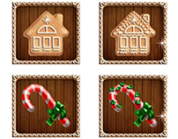 Gingerbread house slot