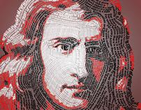 Isaac Newton Typography
