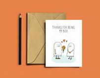 Nerdy Halloween Cards