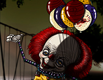 Pennywise el payaso /// FAN ART GUACALA
