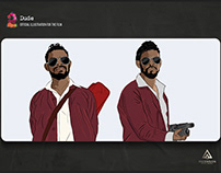 AADU2 malayalam movie Official Illustrations for titles