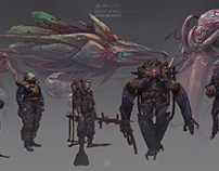 Beneath the waves - Character design Vol: 9