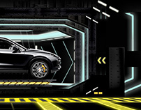 Porsche - Interactive Visuals Mapping