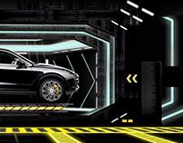 Porsche - Interactive Visuals Mapping