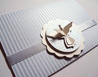 Convite Batizado - Detalhe 3D
