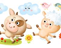 Animals - stickers