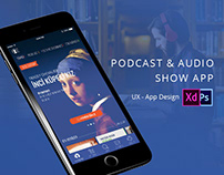 Podcast & Audio Show App UI-UX
