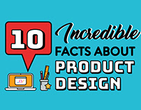 Infographic- 10 Incredible facts about product design.
